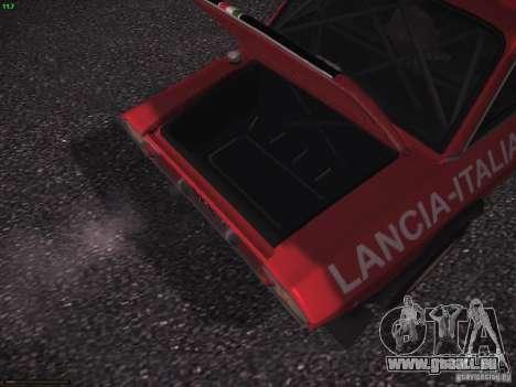 Lancia Fulvia Rally pour GTA San Andreas vue de côté