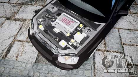 Subaru Impreza v2 für GTA 4 Rückansicht