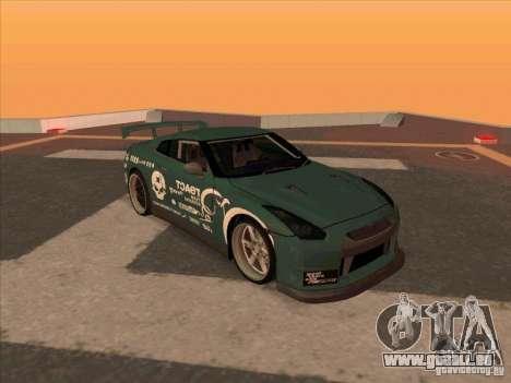 Nissan GT-R R35 rEACT pour GTA San Andreas