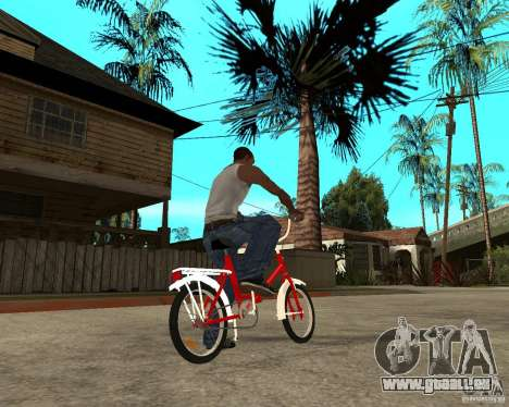 Tair GTA SA Rad Rad für GTA San Andreas zurück linke Ansicht