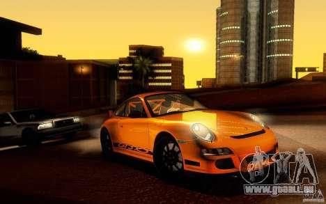 Porsche 911 GT3 RS pour GTA San Andreas laissé vue