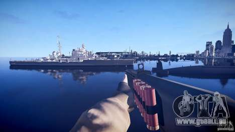 Neue Schrotflinte für GTA 4 dritte Screenshot
