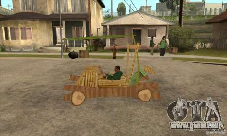 New Police Madagascar pour GTA San Andreas laissé vue