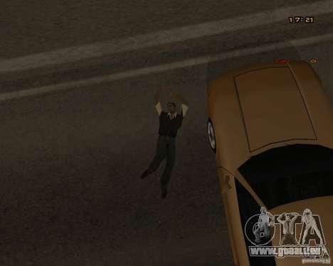 Nouvelles animations pour GTA San Andreas sixième écran