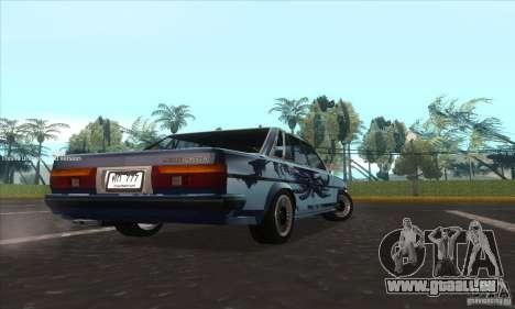Toyota Cresta GX71 für GTA San Andreas zurück linke Ansicht
