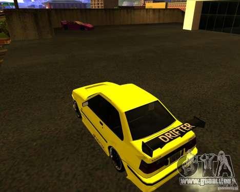 GTA VI Futo GT custom pour GTA San Andreas laissé vue