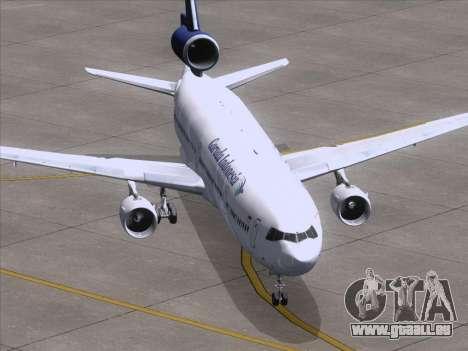 McDonnell Douglas MD-11 Garuda Indonesia pour GTA San Andreas vue arrière