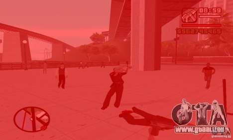 Réincarnation dans un habitant de la ville pour GTA San Andreas deuxième écran