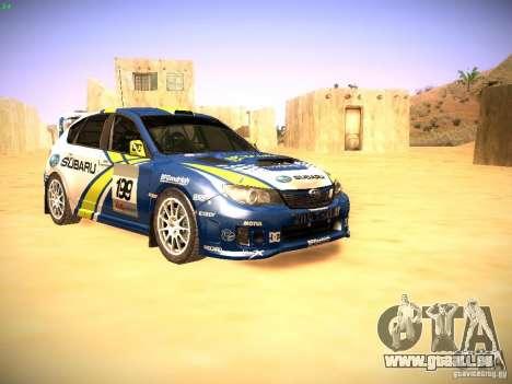 Subaru impreza Tarmac Rally für GTA San Andreas
