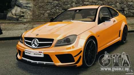 Mercedes-Benz C63 AMG 2012 pour GTA 4