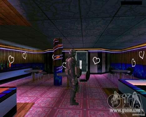 La seconde peau de CoD MW 2 pour GTA San Andreas cinquième écran