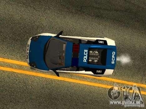 Lamborghini Murcielago LP640 Police V1.0 pour GTA San Andreas vue de côté