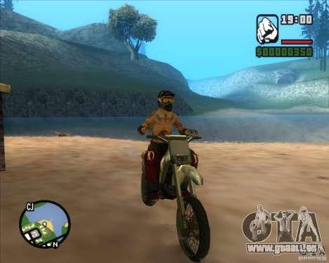 Le coureur du combustible pour GTA San Andreas quatrième écran