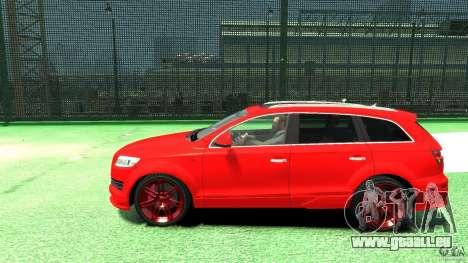 Audi Q7 v12 TDI pour GTA 4 est une gauche