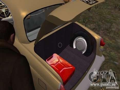 GAZ-21r pour GTA 4 roues