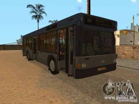 MAZ 103 für GTA San Andreas Seitenansicht