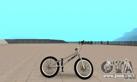 Vélos BMX de la CS pour GTA San Andreas sur la vue arrière gauche