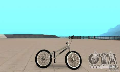 CS Fahrräder BMX für GTA San Andreas zurück linke Ansicht