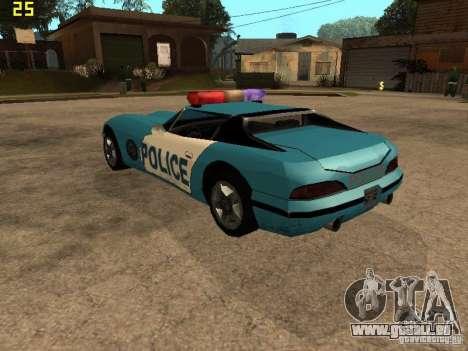 Banshee Police San Andreas pour GTA San Andreas laissé vue