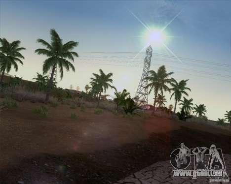 HQ Country N2 Desert pour GTA San Andreas troisième écran