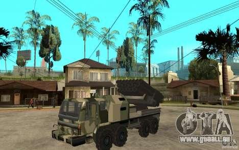 Missile Launcher Truck pour GTA San Andreas