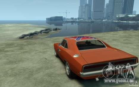 Dodge Charger General Lee v1.1 für GTA 4 hinten links Ansicht