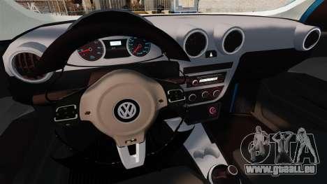 Volkswagen Voyage G6 2013 pour GTA 4 est une vue de l'intérieur