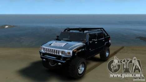 Hummer H2 4x4 OffRoad pour GTA 4