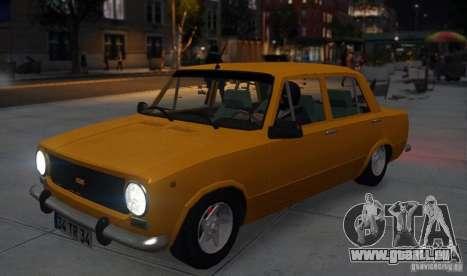 Fiat 124 für GTA 4 Rückansicht