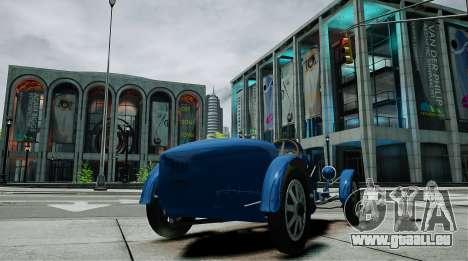 Bugatti Type 35C pour GTA 4 Vue arrière de la gauche