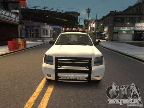 Chevrolet Tahoe NYPD V.2.0 pour GTA 4
