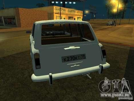 VAZ 2106 Touring für GTA San Andreas rechten Ansicht