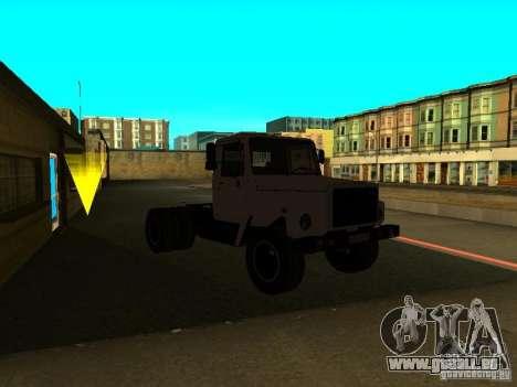 3309 GAZ tracteur pour GTA San Andreas vue de droite