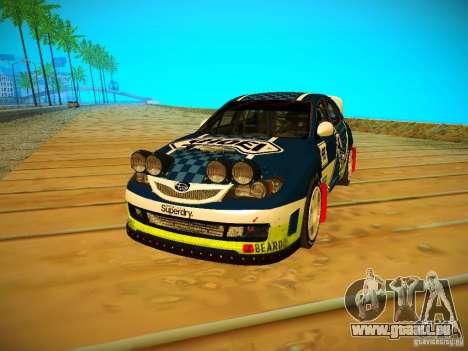 Subaru Impreza WRX STi N14 Rallycross pour GTA San Andreas laissé vue