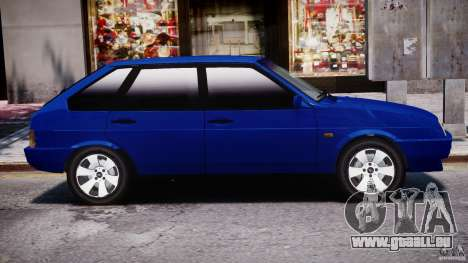 Vaz-21093i pour GTA 4 Vue arrière de la gauche