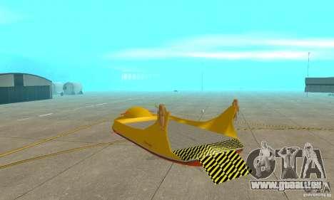 Transporteur aérien de plate-forme élévatrice pour GTA San Andreas vue de droite