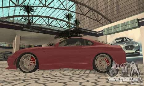 Toyota Supra Tunable 2 pour GTA San Andreas vue de droite