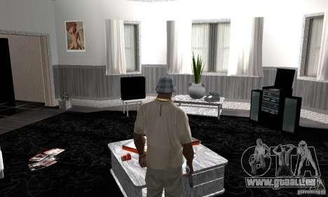 Nouvelles textures intérieur de maisons sûres pour GTA San Andreas