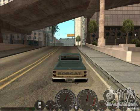 Memphis Tacho v2. 0 für GTA San Andreas