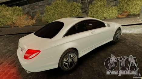 Mercedes-Benz CL65 AMG Stock für GTA 4 linke Ansicht