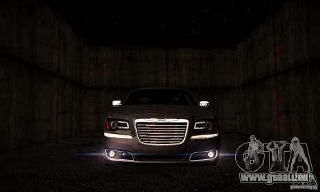 Chrysler 300c für GTA San Andreas Rückansicht