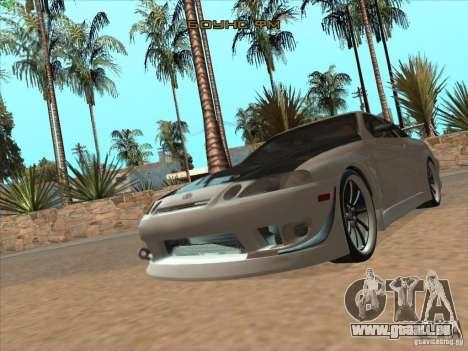 Toyota Soarer (JZZ30) für GTA San Andreas Seitenansicht