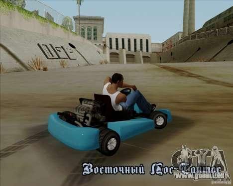 Kart pour GTA San Andreas vue de côté