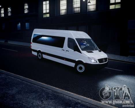 Mercedes-Benz Sprinter Long für GTA 4 linke Ansicht