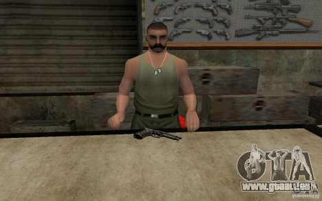 Barreta M9 and Barreta M9 Silenced für GTA San Andreas dritten Screenshot