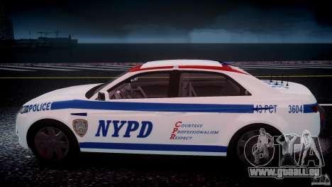 Carbon Motors E7 Concept Interceptor NYPD [ELS] für GTA 4-Motor