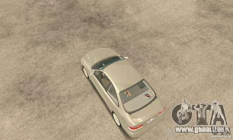 Honda Civic 1998 pour GTA San Andreas sur la vue arrière gauche