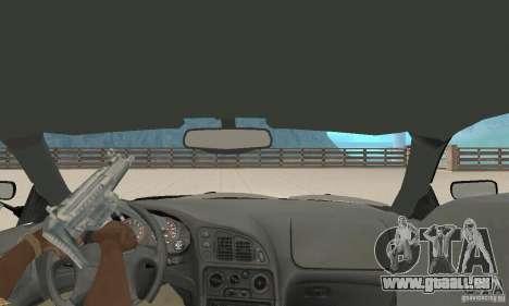Mitsubishi Eclipse FnF für GTA San Andreas Rückansicht
