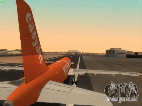 Airbus A320-214 EasyJet 200th Plane pour GTA San Andreas moteur