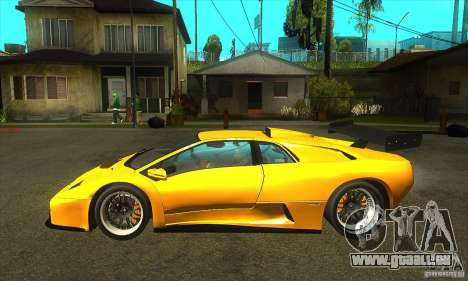 Lamborghini Diablo GT-R 1999 für GTA San Andreas linke Ansicht